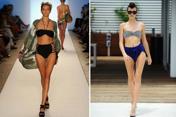 Top 5 bikinitrend idén nyárra - Magas derekú - ha már nadrágban tarol, itt az ideje, hogy megint megjelenjen a strandon is.