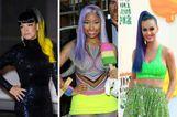 Sztárok szivárványszínű hajjal