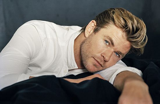 Chris Hemsworth dögös fotósorozata