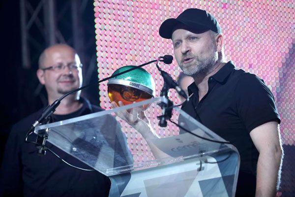 VIVA Comet 2012 - A legjobb pillanatok - Az Anima Sound System kapta a Magyar Könnyűzenéért díjat.