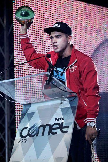 """VIVA Comet 2012 - A legjobb pillanatok - """"Végre nem csak VV Béciként, hanem Young-G-ként is értékelnek"""" - mondta köszönőbeszédében a Legjobb új előadó."""