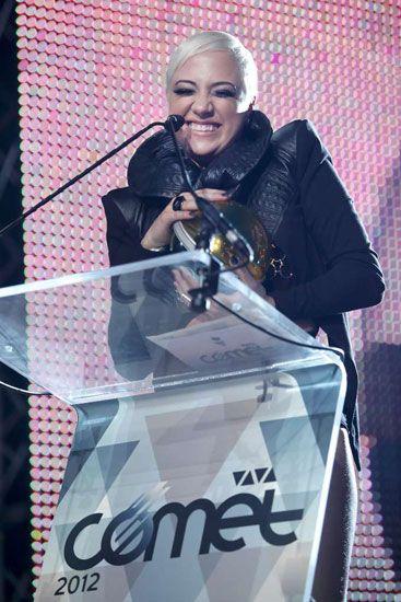 VIVA Comet 2012 - A legjobb pillanatok - Tóth Gabi régóta várt a sikerre, most nagyon boldog volt, mert ő lett az év legjobb női előadója.
