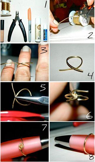 A 7 legjobb csináld magad-ékszer - Bármilyen formájú gyűrű is készülhet – nagyobb mennyiségben.