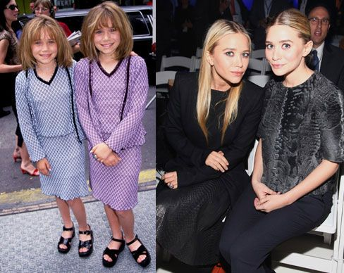 Gyerekszínészből szupersztárok - Az Olsen-ikrek, Ashley és Mary-Kate egyéves (!) korukban kapták első sorozatszerepüket, azóta érett nővé váltak és kalandos éveken vannak túl - de még mindig ugyanolyan tündériek, mint babakorukban.