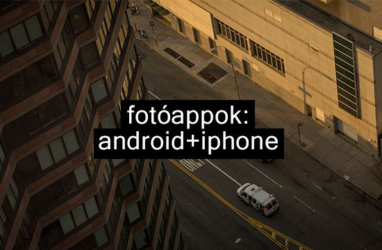 Fotóappok: Android+iPhone