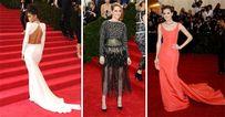 Hollywoodi elegancia a MET gála vörös szőnyegén