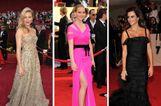 Celebek lenyűgöző Oscar de la Renta ruhákban
