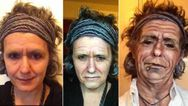 Sminkes átváltozás: nőből celebpasikká!