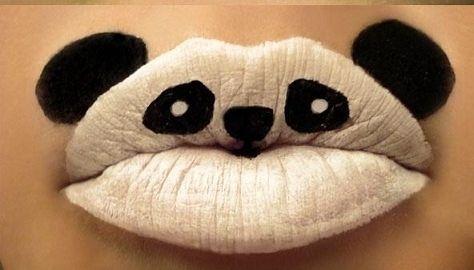Cuki szájdizájn szilveszterre! - A pandákat mindenki szereti, és elkészíteni sem nehéz!