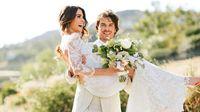 Eddig nem látott fotók Nikki Reed és Ian Somerhalder esküvőjéről