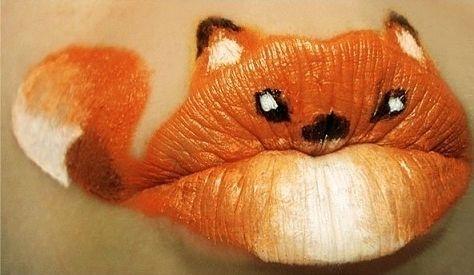Cuki szájdizájn szilveszterre! - Ha sminkeddel is ki akarod fejezni, hogy te vagy a legfifikásabb csaj, akkor egy rókát ajánlunk!